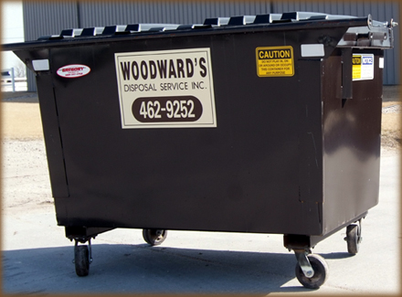 "3 or 4 Yard L 66 3/4"" x D 79 1/2"" x H 45"" 660 Gallon Capacity"