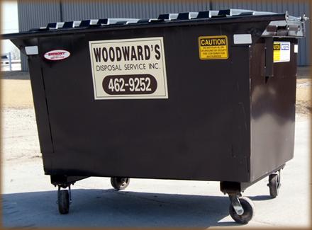 "3 or 4 Yard L 66 3/4"" x D 79 1/2"" x H 45"" 660 Gallon Capacity"