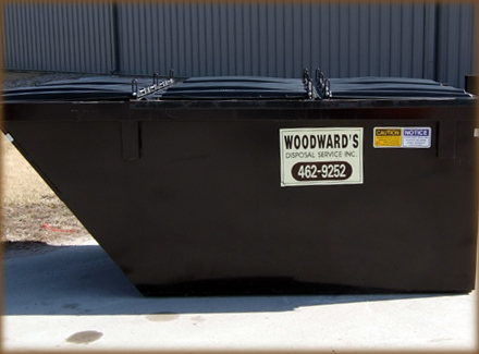 "6 Yard L 68"" x D 122"" x H 50"" 1320 Gallon Capacity"