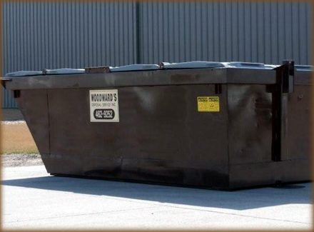 "8 Yard L 68"" x D 144"" x H 50"" 1760 Gallon Capacity"